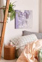 DENY Designs Emanuela Carratoni For DENY Marble And Rose Canvas Wall Art