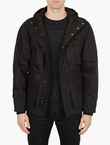 Saturdays Surf NYC Black Hooded M-65 Jacket