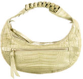 Nancy Gonzalez Crocodile Chain Hobo