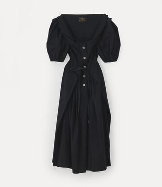 Vivienne Westwood New Short Sleeve Saturday Dress Black
