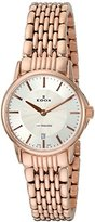 Edox Women's 57001 37RM AIR Les Bemonts Analog Display Swiss Quartz Rose Gold Watch
