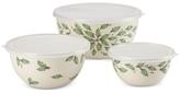 Lenox Holiday Mixing Bowls Set of 3