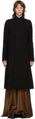Haider Ackermann Black Wool Proud Coat