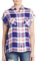 Rails Britt Plaid Dolman Shirt