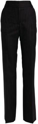 Victoria Beckham Pinstriped Straight-Leg Trousers
