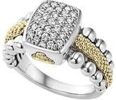 Lagos Women's Diamond Caviar Square Ring