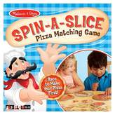 Melissa & Doug ; Spin-a-Slice Pizza Matching Game for Kids (72 pcs Plus Spinner)