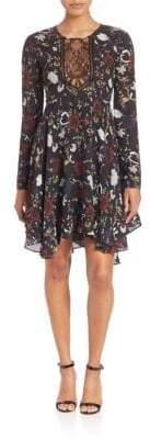 A.L.C. Cynthia Fit & Flare Silk Dress