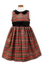 Sorbet Girl's Metallic Plaid Dress