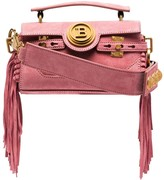 Balmain BBuzz Baguette fringed shoulder bag