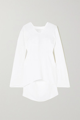 Roland Mouret Whinfell Open-knit Top - White