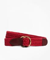 Brooks Brothers Cotton Braided Belt