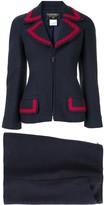 CC Logos Button Setup Suit Jacket Skirt