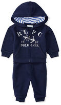 Ralph Lauren Childrenswear Atlantic Terry Hoodie and Pants Set