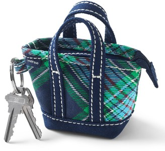 Lands' End Canvas Tote Keychain