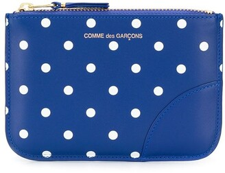 Comme des Garcons dotted pattern wallet