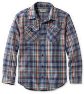 L.L. Bean Boys' L.L.Bean Flannel Shirt, Plaid
