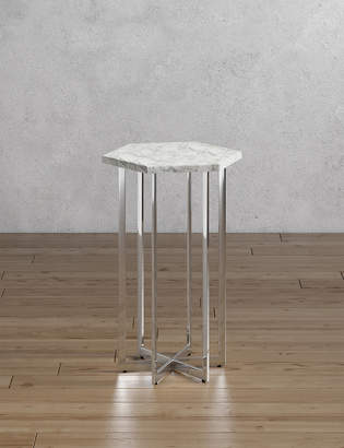 Marks and Spencer Ava White Marble Side Table