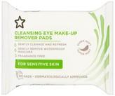 Superdrug Cleansing Eye Makeup Remover Pads