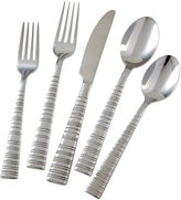 Cambridge Silversmiths Vertex Satin 45-pc. Flatware Set
