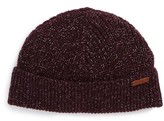 Ted Baker Rib Knit Cap - Purple