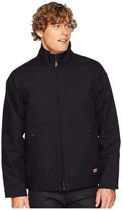 Timberland Baluster Insulated Jacket (Jet Black) Men's Coat