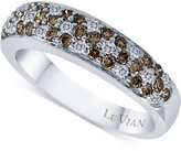 LeVian Le Vian Diamond Flower Band (3/4 ct. t.w.) in 14k White Gold