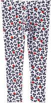 Joe Fresh Toddler Girls' Legging, Navy (Size 3)