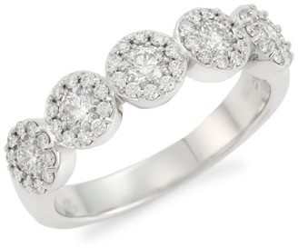 Hearts On Fire Fulfillment 18K White Gold & Diamond 5-Stone Ring