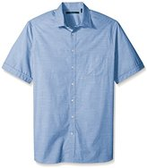 Perry Ellis Men's Big and Tall Stripe Texture Shirt
