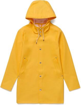 Stutterheim Yellow Womens Stockholm Raincoat - XXS - Yellow