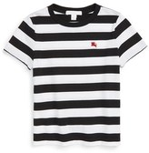 Burberry Boy's 'Mini Torridge' Stripe Cotton T-Shirt