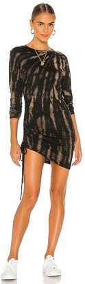 Pam & Gela Tie Dye Twisted Dress