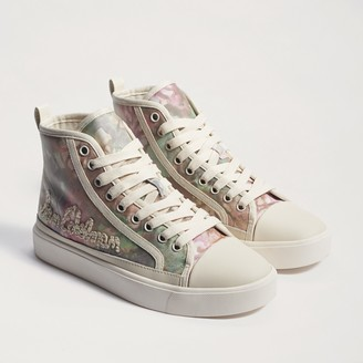 Elba High Top Lace Up Sneaker