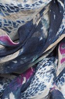 Yigal Azrouel 'Paint Chips' Print Modal & Cashmere Scarf