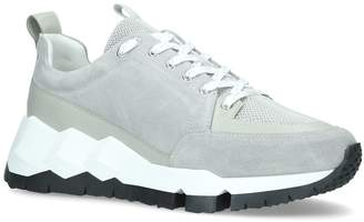 Pierre Hardy Leather Streetlife Sneakers