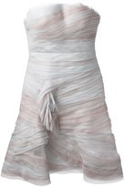 Ermanno Scervino strapless layered ruffle dress