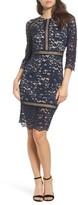 Vince Camuto Petite Women's Lace Sheath Dress