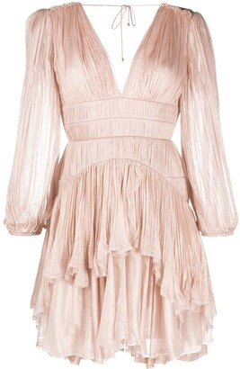 Maria Lucia Hohan Dania pleated mini dress