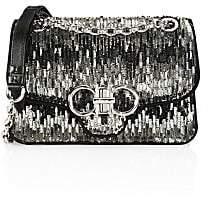 Salvatore Ferragamo Women's Medium Gancini Paillettes Shoulder Bag
