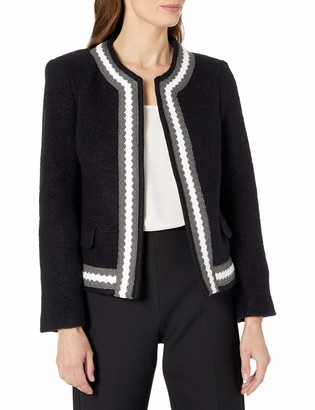 Helene Berman Women's Zig Zag Trim Jacket
