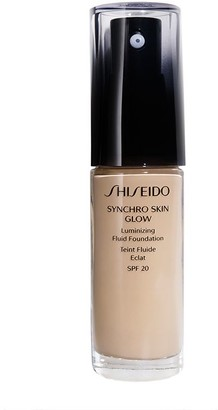 Shiseido Synchro Skin Glow Luminizing Foundation 30Ml 3 Golden (Medium, Warm)