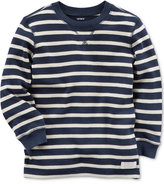 Carter's Striped Cotton Thermal Shirt, Toddler Boys (2T-4T)
