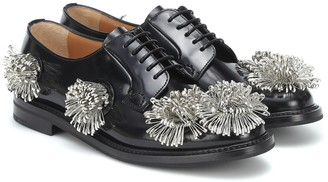 Noir Kei Ninomiya x Church's Shannon 12 leather Derby shoes