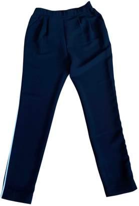 Paule Ka Black Trousers for Women
