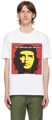 Wacko Maria White Rage Against The Machine Edition Jersey T-Shirt