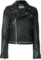 CK Calvin Klein shearling lined jacket
