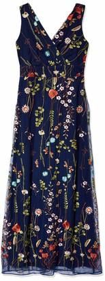 Chetta B Women's Embroidered Gown
