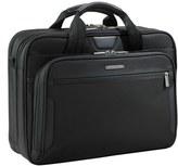 Briggs & Riley Men's 'Medium' Ballistic Nylon Briefcase - Black