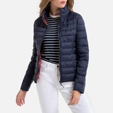 Only Short Zip-Up Padded Jacket with High-Neck